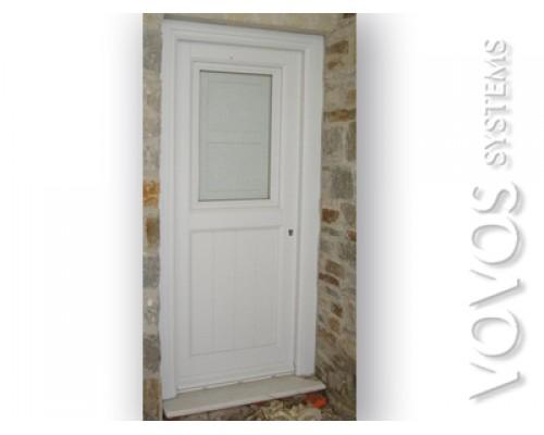 Ξυλινες Πορτες, Πορτες κουζινας Ξυλινες  λευκες οικονομικες στην Υδρα