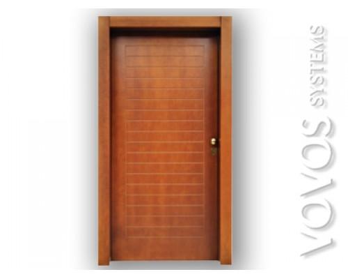 """Πορτες Ασφαλειας , Θωρακισμενες Πορτες, Ξυλινη Πορτα , σχεδιο """" Οριζον """" στον Πειραια"""